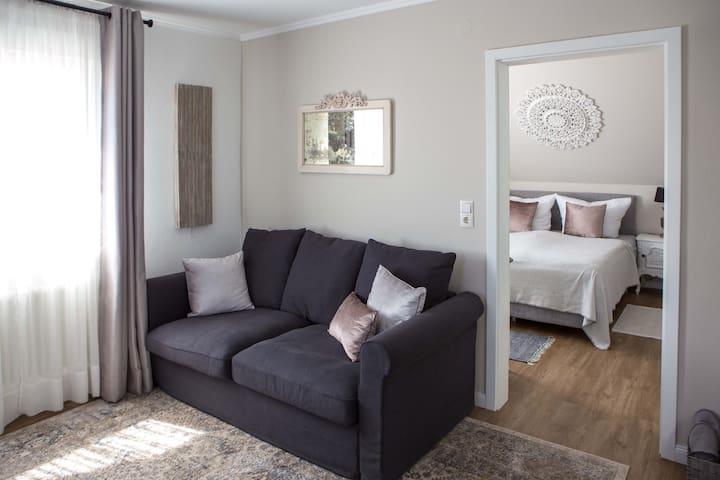 Schönes, helles Apartment nahe Europapark Rust
