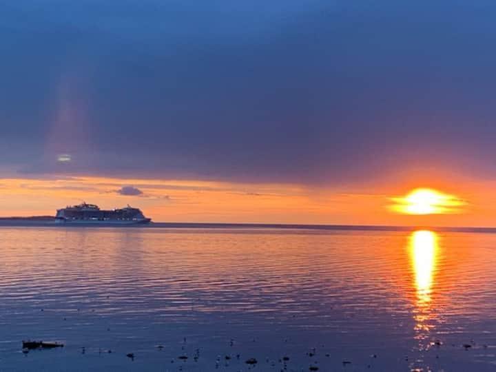 Magisk havsutsikt i Viken! Magical sea view!