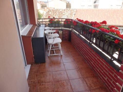 A spacious  apartment  the Merindades (Burgos)