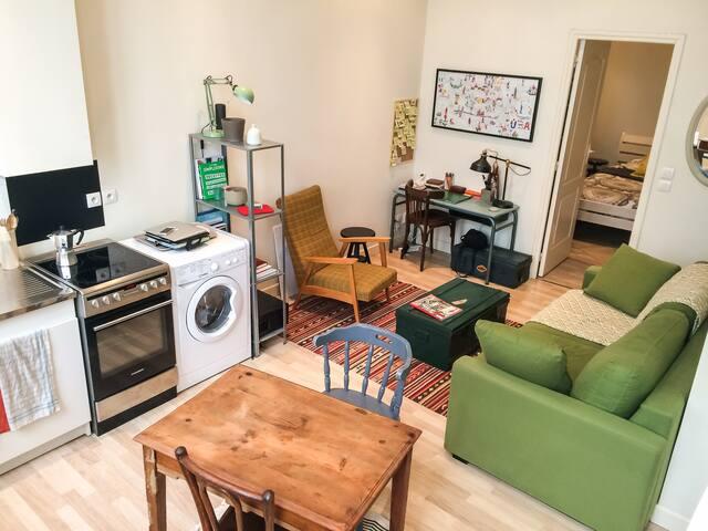 Petit nid douillet à deux pas de la Part Dieu - Lyon - Apartment