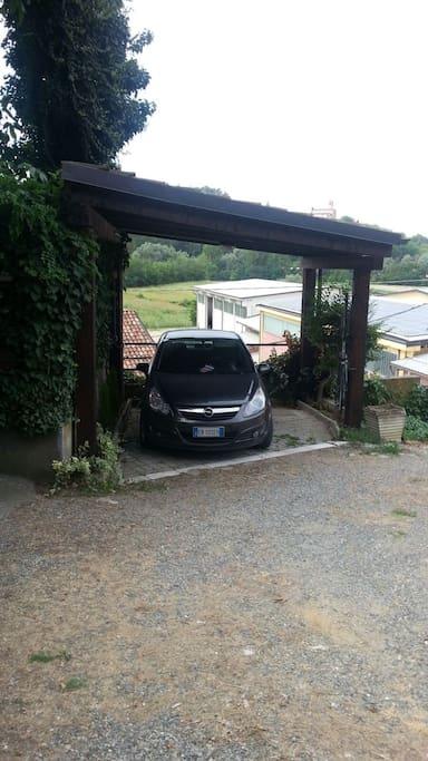Posto auto privato