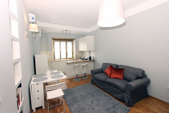 Affordable 2BR flat near Trastevere