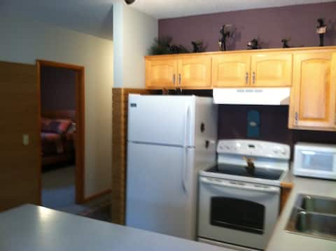 Brewery apartment in the heart of Crosslake