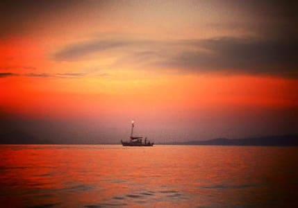 Διαμέρισμα πάνω στη θάλασσα - Agii Apostoli - Apartmen