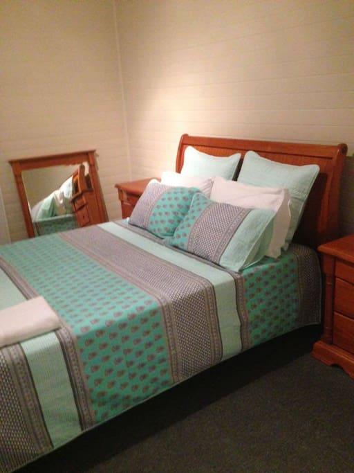 1st large queen bedroom