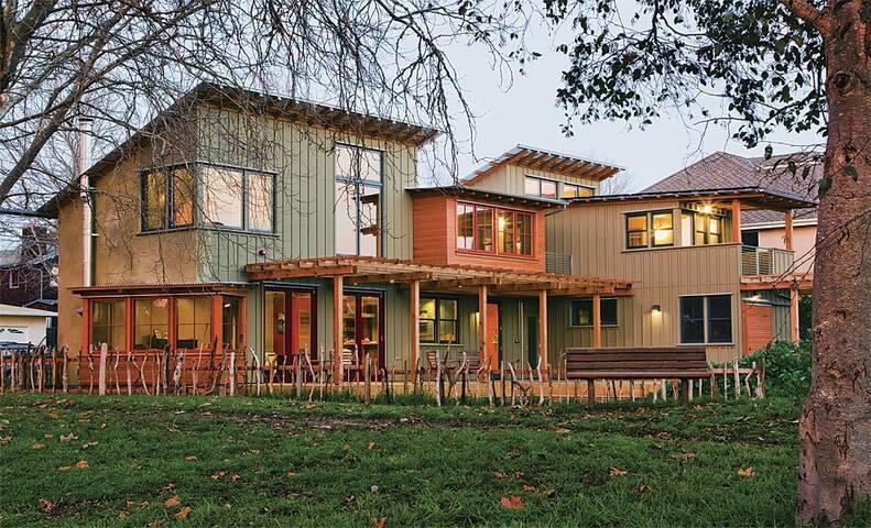 Green Architectural Gem Near Beach - Santa Cruz - Dům