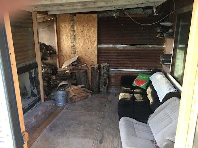 The Fireroom with Futon