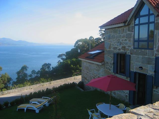 Casa cerca del mar. Espectacular vista - Muros - Casa