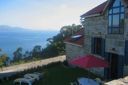 Casa cerca del mar. Espectacular vista - Muros - Haus