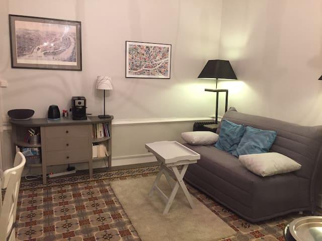 Une chambre à soi à Nantes