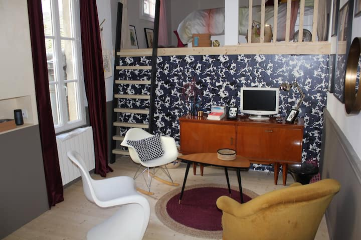Charming studio in the heart of Nantes