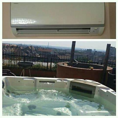 Penthous Segway& Chill/jacuzzi/SIM - Budapest - Wohnung