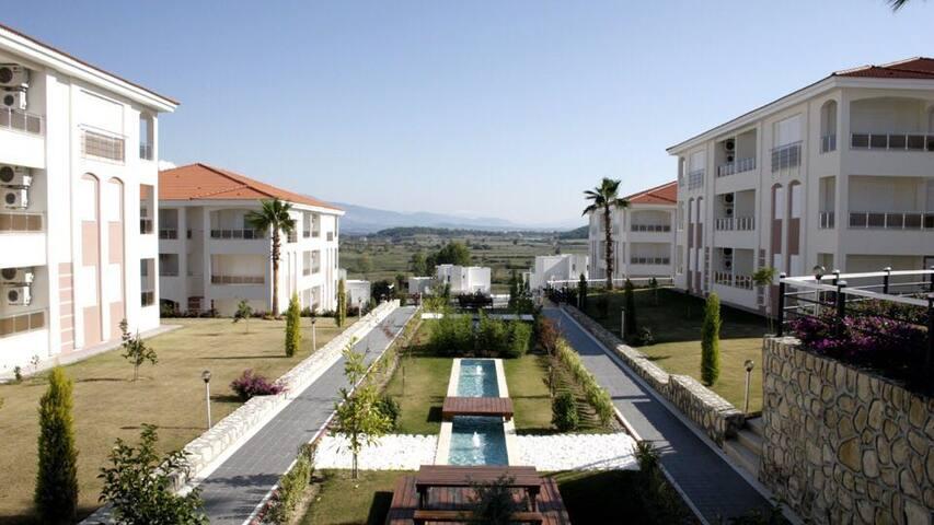An amazing resort complex