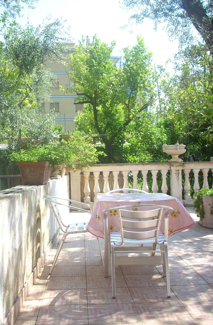 Lovely Sorrento studio apt. in garden oasis.