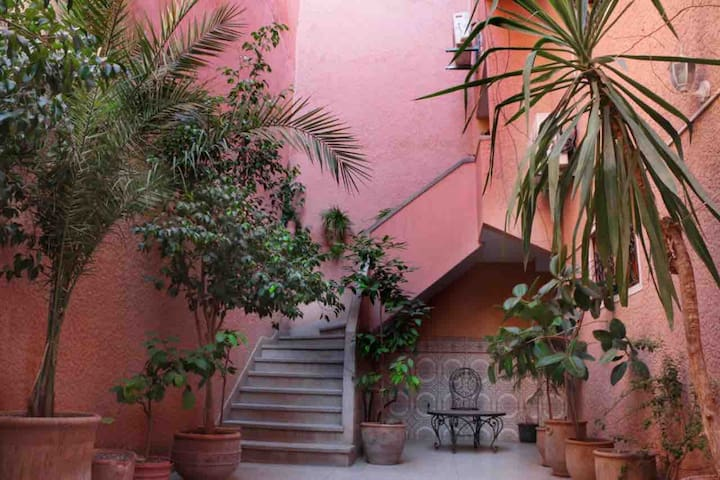 appartement au coeur de marrakech