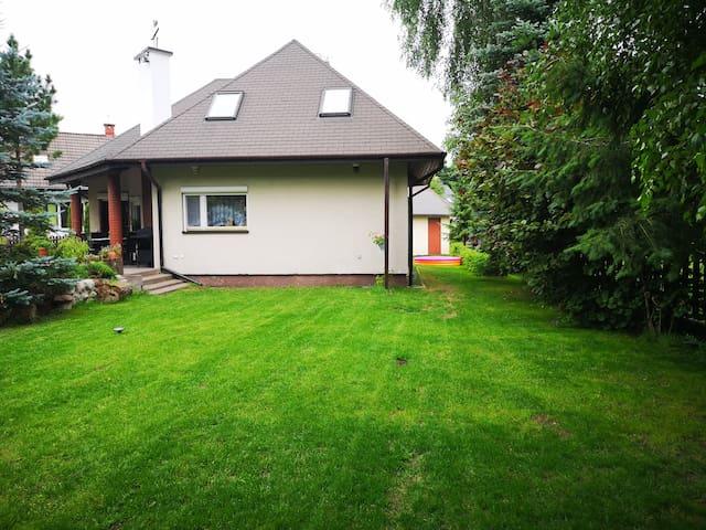 Komfortowy dom nad jeziorem Mielno, Mazury