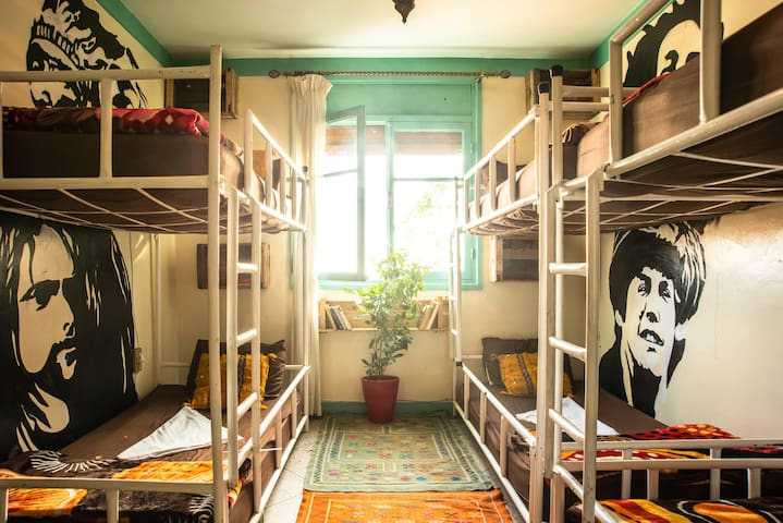 Roof House Taghazout 6 beds shared dorm