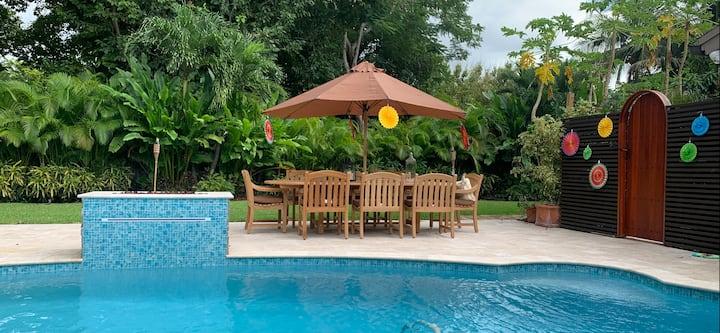 Miami Tropical Private Pool Villa - Superhost