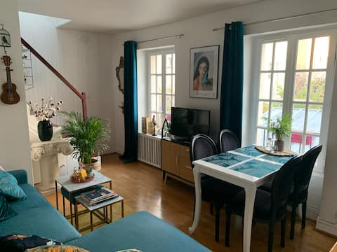 Cosy duplex near Paris for 2-4 persons