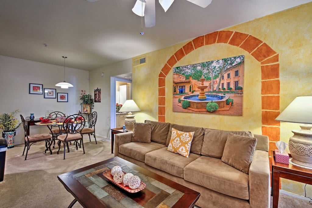 You'll feel right at home in this cozy condo.