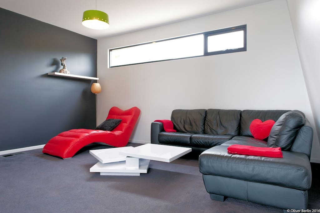 The designer lounge room ... (We add seating for larger groups)