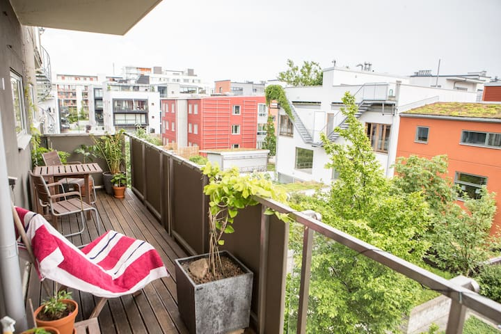 Modern apartment close to the sea and town center - Malmö - Lägenhet