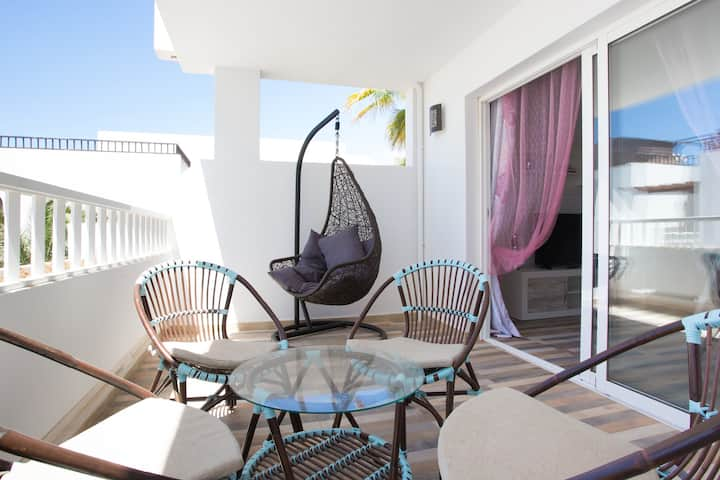 T506. Apartment in Costa Teguise.
