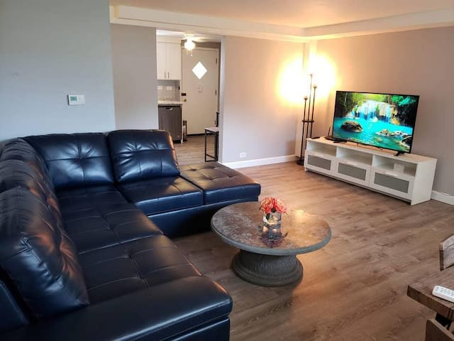 Excellent 1 Bedroom 1 Bathroom Apartment for 4