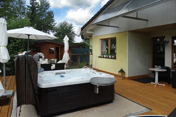 Cozy Holiday home in Lenzkirch with Whirlpool