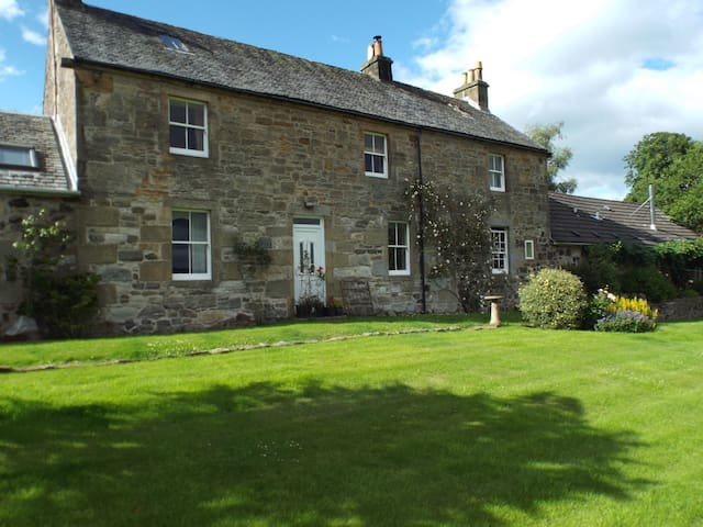Riskend Farmhouse - North Lanarkshire - Hus