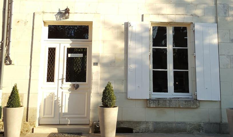Maison de famille 19ème - Piscine privative - Nouans-les-Fontaines - Casa de vacaciones