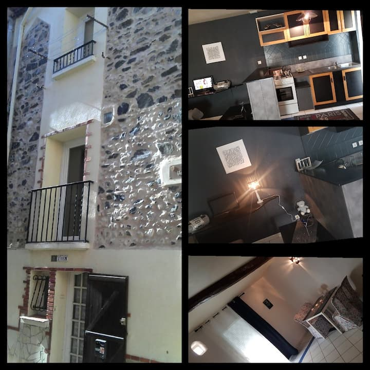 Maison de village typique catalane 70 m2