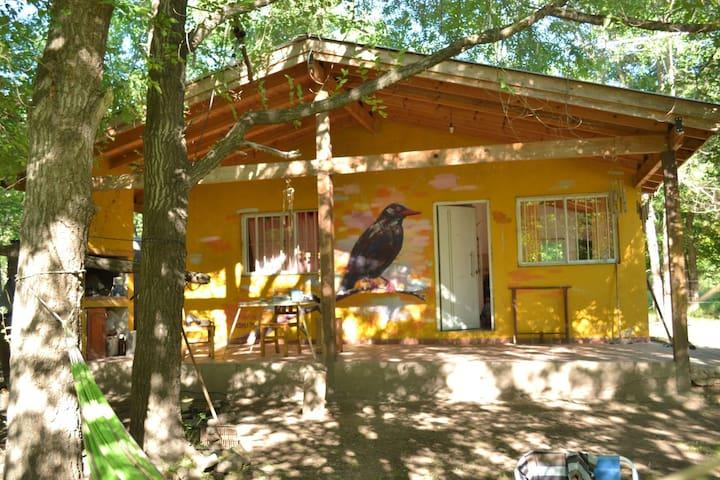 Cabaña en Los Reartes a una cuadra del rio