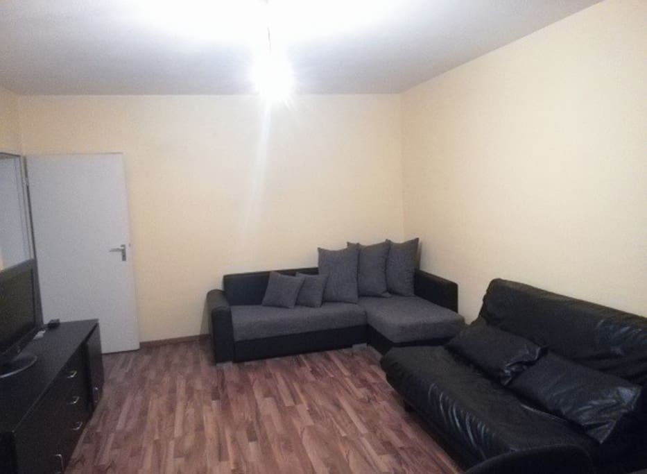 Two comfortable sofa bed