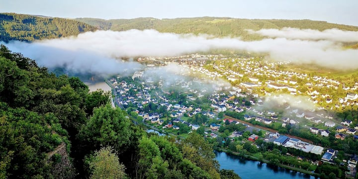 The Mosel river from above - Panorama Suite