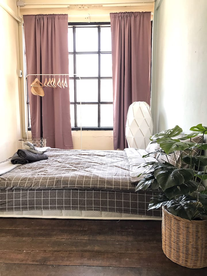 A feel like home studio cozy & relax place room #1