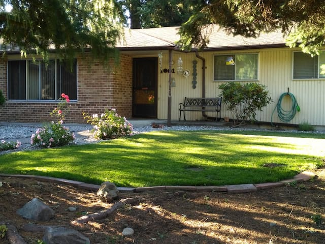 Private Master Br/Ba minutes from PLU and JBLM