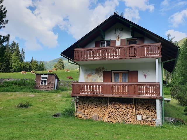Haus Gamskogelblick - wie auf der Alm