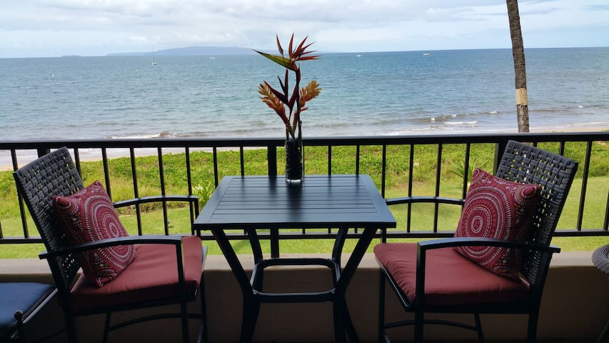 5 star view from our lanai.