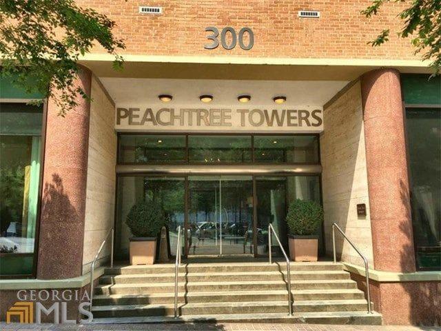 Downtown Atlanta Condo Rental- Peachtree Towers