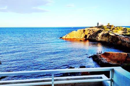 Hermoso Ático frente al mar con terraza y solárium - Santa Eulària des Riu - Pis