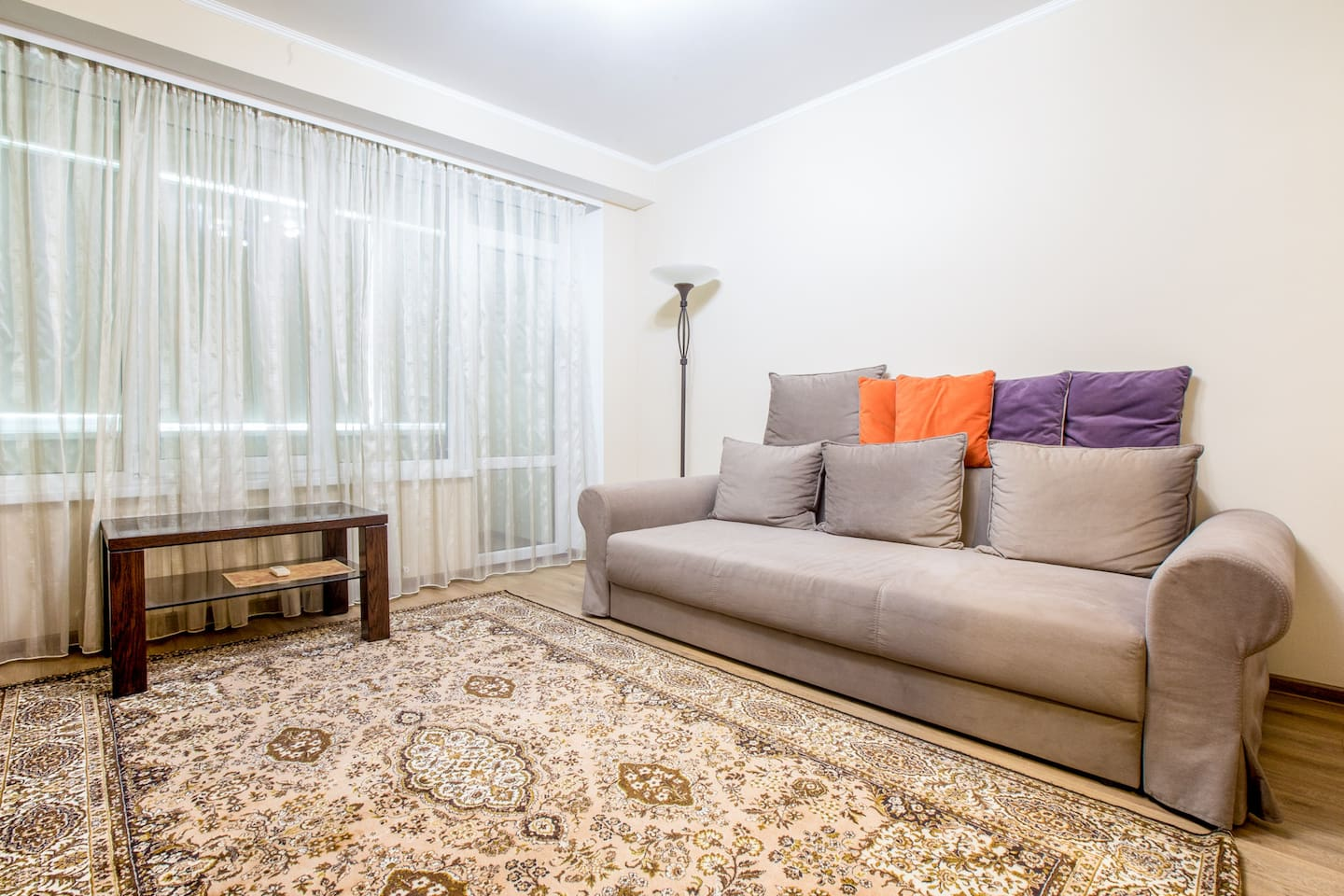 Expandable Sofa in the Living Room