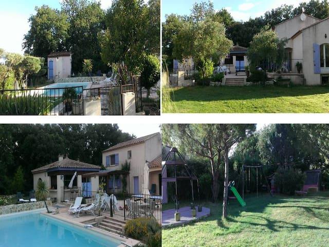 VILLA DANS LE GARD - Montignargues - Villa