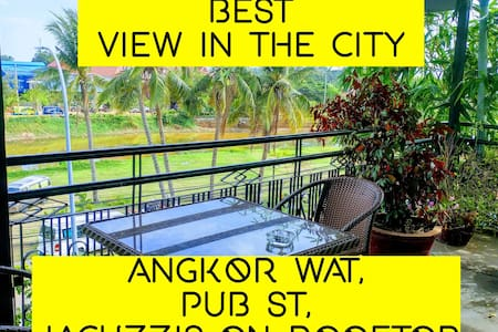 BUDGET FAN ROOM, jacuzzis, Close to pub street - Krong Siem Reap - Hotel butique