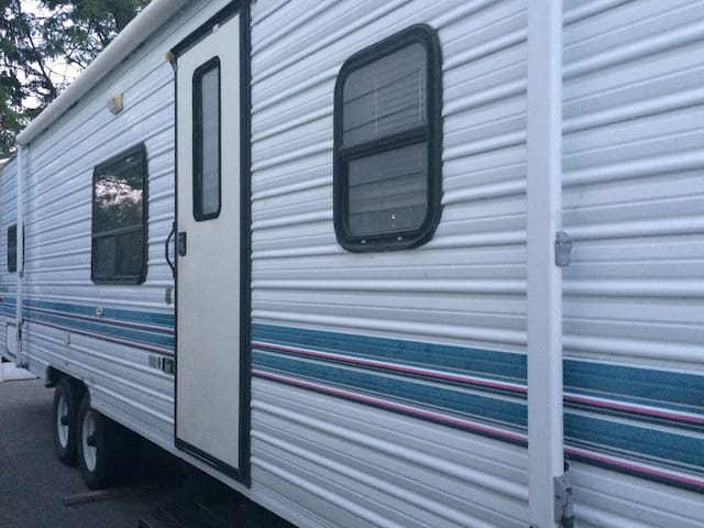 It's like you're camping!