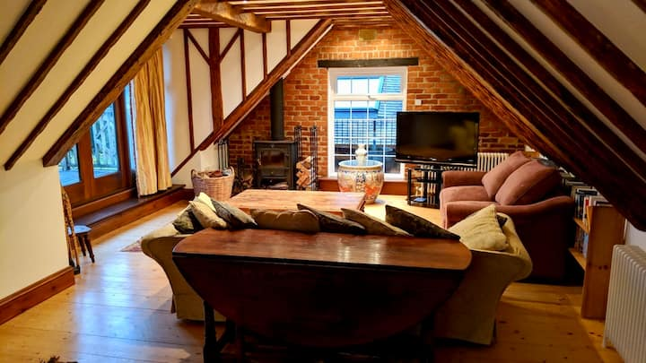 The HayLoft, a charming hideaway in the New Forest