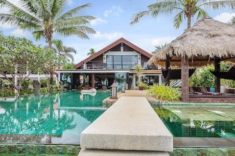 Malee Beach Front Villa A2, Koh Lanta, Krabi