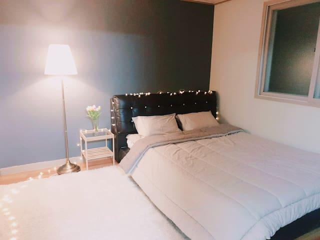 두류역, 이월드 5분거리 아늑한 투룸 E-world tidy & neat room ;)