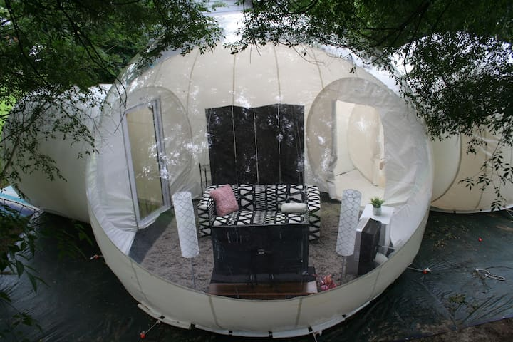 Fluffy Bubble Tent