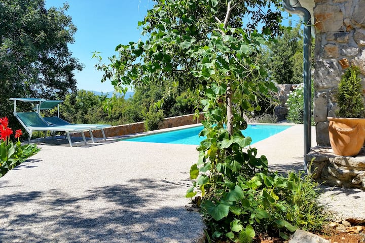Luxurious villa MINT with pool for four persons